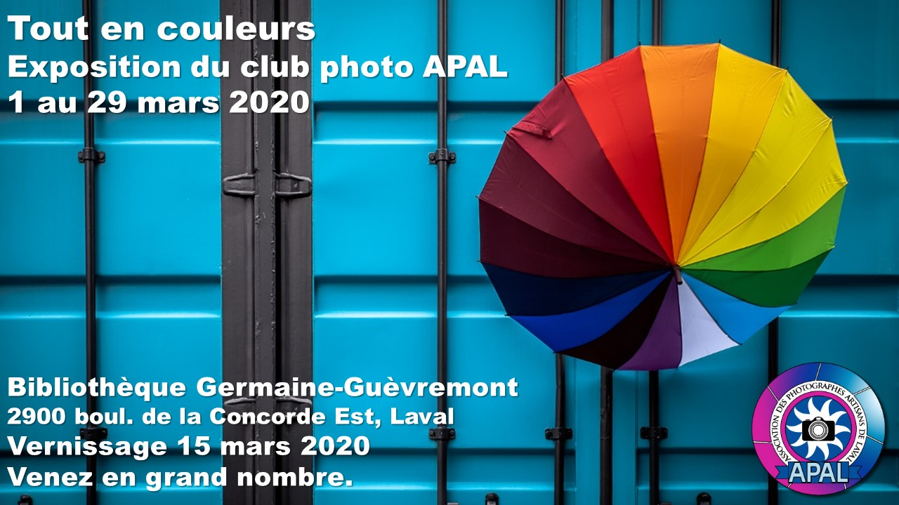 APAL Affiche expo Mar 2020